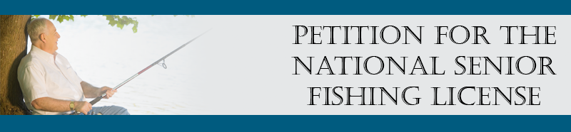 Fishing petition home for Do senior citizens need a fishing license